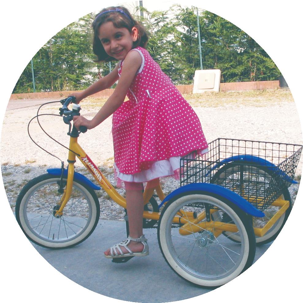 Biciclette a tre ruote